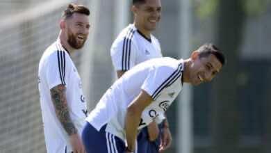 صورة دي ماريا يَرد على استبعاده من تشكيلة الأرجنيتن في تصفيات كأس العالم 2022