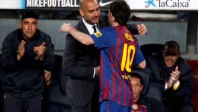 صورة جوارديولا يكسر صمته في قضية ميسي مع برشلونة