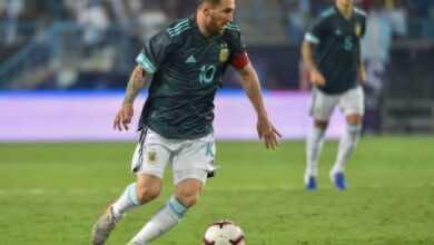 صورة ميسي يقود الأرجنتين في افتتاح تصفيات كأس العالم 2022