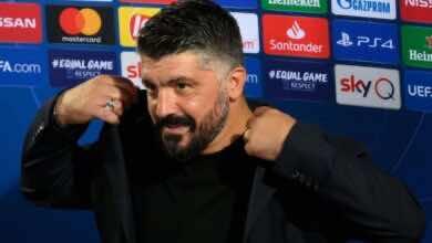 صورة جاتوزو يرفض مدحه بعد اكتساح نابولي لجنوى في الدوري الايطالي