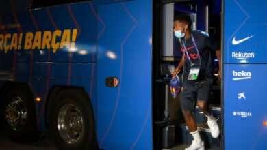 صورة رسميًا | ولفرهامبتون يعلن تعاقده مع ظهير برشلونة