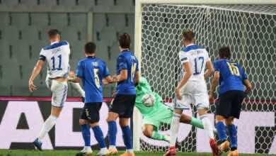 صورة فيديو أهداف ايطاليا والبوسنة والهرسك فى دوري الأمم الاوروبية