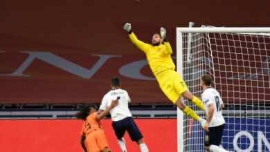 أهداف ايطاليا وهولندا في دوري الأمم الأوروبية (صور:AFP)