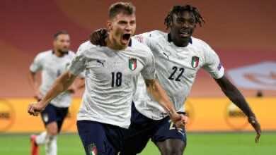 """صورة ملخص مباراة ايطاليا وهولندا في دوري الأمم الأوروبية """"الأتزوري يعود بالصدارة ويُحبط مخطط البوسنة"""""""