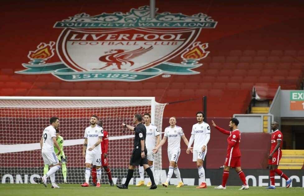نتيجة مباراة ليفربول وليدز يونايتد فى الدوري الانجليزي (صور:AFP)