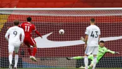 صورة فيديو أهداف ليفربول وليدز يونايتد في الدوري الانجليزي