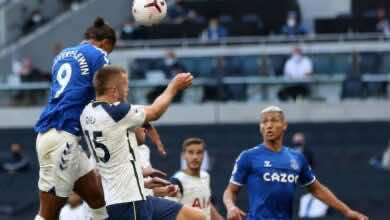 صورة فيديو أهداف توتنهام وايفرتون فى الدوري الانجليزي