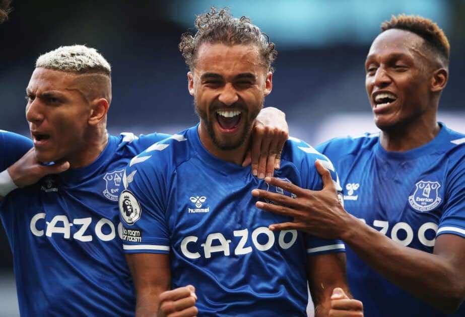 كالفيرت ليوين يسجل الهدف الافتتاحي لايفرتون في الدوري الانجليزي 2020