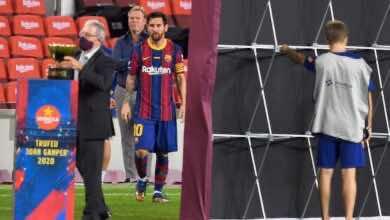 صورة برشلونة في اختبار صعب بعد رحيل سواريز وفيدال..كيف سيتصرف كومان؟