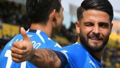 إنسيني قائد نابولي يغيب عن مباراة يوفنتوس في الرابع من أكتوبر للإصابة