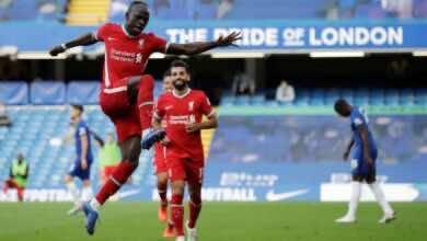 صورة ماني يُهدي ليفربول الفوز أمام تشيلسي ومشاركة إيفرتون صدارة الدوري الإنجليزي