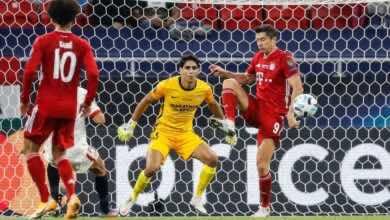 صورة فيديو أهداف بايرن ميونخ واشبيلية في كأس السوبر الأوروبي