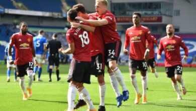 صورة بأعجوبة…مانشستر يونايتد يقتنص أول ثلاث نقاط في الدوري الانجليزي