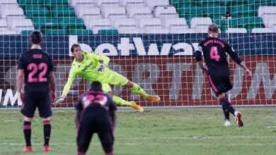 صورة فيديو أهداف ريال مدريد وريال بيتيس في الدوري الإسباني