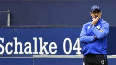 """صورة رسميًا .. شالكه يُقيل مدربه """"فاجنر"""" بعد البداية الكارثية في الدوري الألماني"""