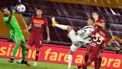 صورة فيديو أهداف يوفنتوس وروما في الدوري الإيطالي