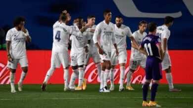 صورة فينيسيوس يُنقذ ريال مدريد من السقوط فى فخ التعادل أمام بلد الوليد فى الدوري الإسباني