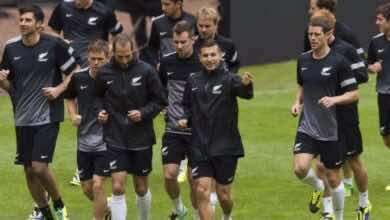 """صورة خيبة أمل في نيوزيلاندا بعد إلغاء مباراة ودية أمام متصدر تصنيف الفيفا """"بلجيكا"""""""