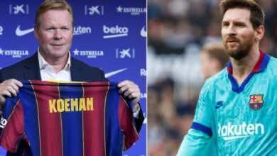 صورة كومان يتحدث لأول مرة عن ميسي بعد فشل مغادرته برشلونة