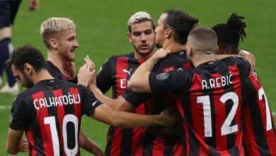 """صورة ملخص مباراة مباراة ميلان وبولونيا في الدوري الإيطالي """"ثنائية إبراهيموفيتش تجلب الفوز الأول"""""""