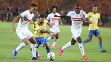 """صورة صور مباراة الزمالك وطنطا في الدوري المصري """"فوز مثير للفارس الأبيض"""""""