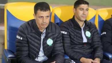 """صورة تشكيلة الرجاء الأساسية أمام الوداد في الدوري المغربي.. """"مالانجو يقود الهجوم"""""""