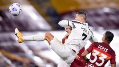 """ملخص مباراة يوفنتوس وروما في الدوري الإيطالي """"رونالدو يُغطي على اخطاء بيرلو"""""""