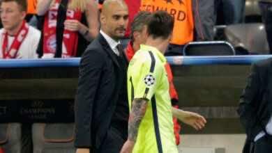 صورة موندو ديبورتيفو: جوارديولا ينصح ميسي بالبقاء في برشلونة، وعقبات اقتصادية في طريق مانشستر سيتي