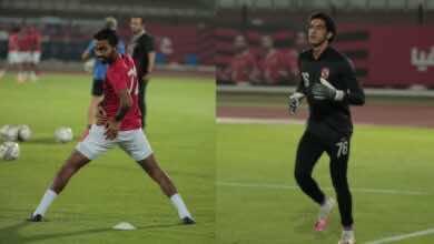 """صورة تشكيلة الاهلي الأساسية أمام الترسانة في كأس مصر.. """"ظهور الشحات وشوبير"""""""