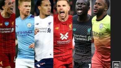 صورة رباعي ليفربول وثنائي السيتي .. تعرف على المرشحين لجائزة أفضل لاعب في الدوري الإنجليزي