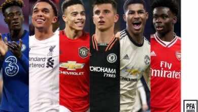 صورة مهاجم تشيلسي وظهير ليفربول على رأس قائمة المرشحين لجائزة أفضل لاعب شاب في الدوري الإنجليزي