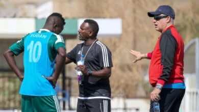 تحت أنظار التوزة.. تدريبات شاقة للاعبي السودان استعدادًا لمواجهتي غانا
