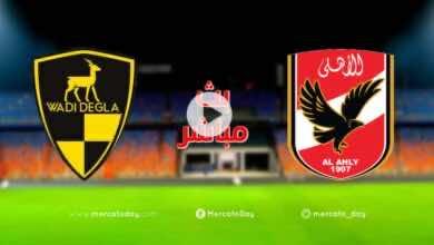 صورة بث مباشر | مشاهدة مباراة الاهلي ووادي دجلة في الدوري المصري