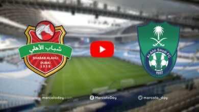 صورة فيديو أهداف الاهلي السعودي وشباب الاهلي دبي فى دوري أبطال آسيا