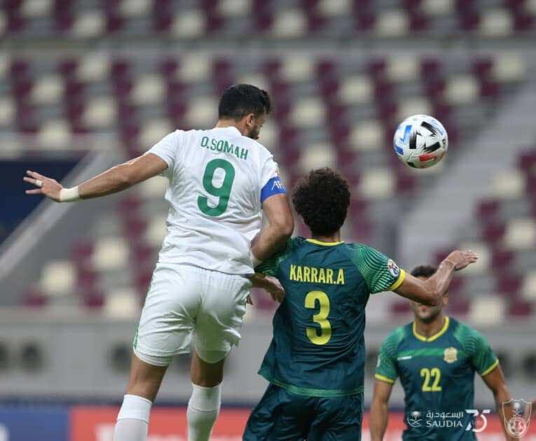 نتيجة مباراة الاهلي والشرطة في دوري أبطال آسيا (صور:twitter)