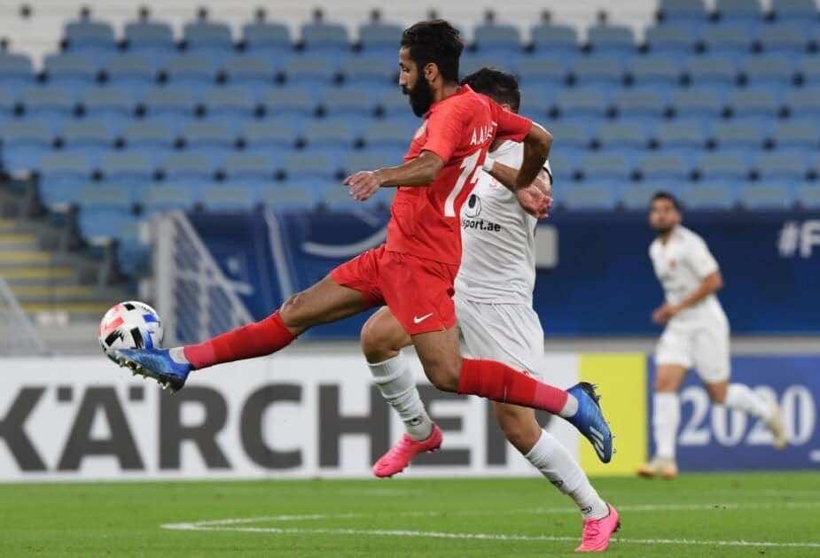 نتيجة مباراة شباب أهلي دبي وشاهر خودرو فى دوري أبطال آسيا (صور:twitter)