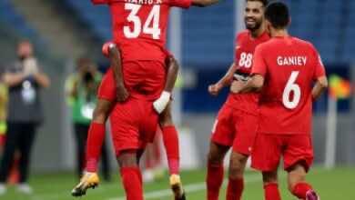 صورة شباب أهلي دبي يهزم شاهر في دوري أبطال آسيا مع أول ظهور لكارلوس إدواردو
