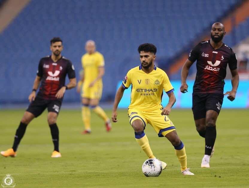 خالد الغنام - صور مباراة النصر والاتفاق