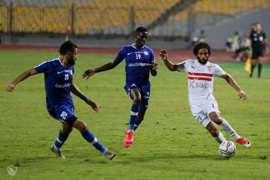 صور مباراة مباراة الزمالك وسموحة  - عبد الله جمعة