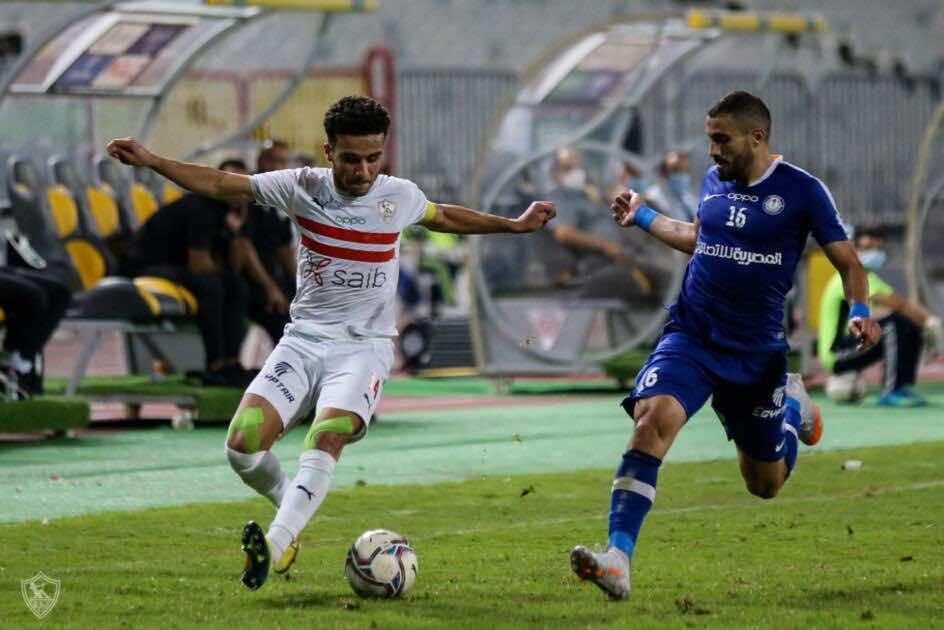 صور مباراة مباراة الزمالك وسموحة  - مصطفى فتحي