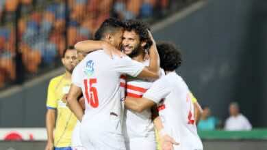 """صورة الزمالك يستعيد توازنه في وصافة الدوري المصري بهزيمة المضحك """"رضا عبد العال"""""""
