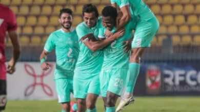 صورة الاهلي يستعيد نغمة الانتصارات بفوز سهل على نادي مصر فى الدوري المصري