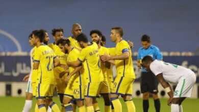 صورة النصر بطلاً لقمة سعودية جديدة، ويتأهل إلى نصف نهائي دوري أبطال آسيا