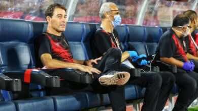 صورة في آخر ظهور لفايلر..الأهلي يجتاز اختبار الشواكيش ويترشح لربع نهائي كأس مصر