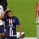 كيليان مبابي بعد خسارة باريس سان جيرمان من بايرن ميونخ في نهائي دوري ابطال اوروبا 2020
