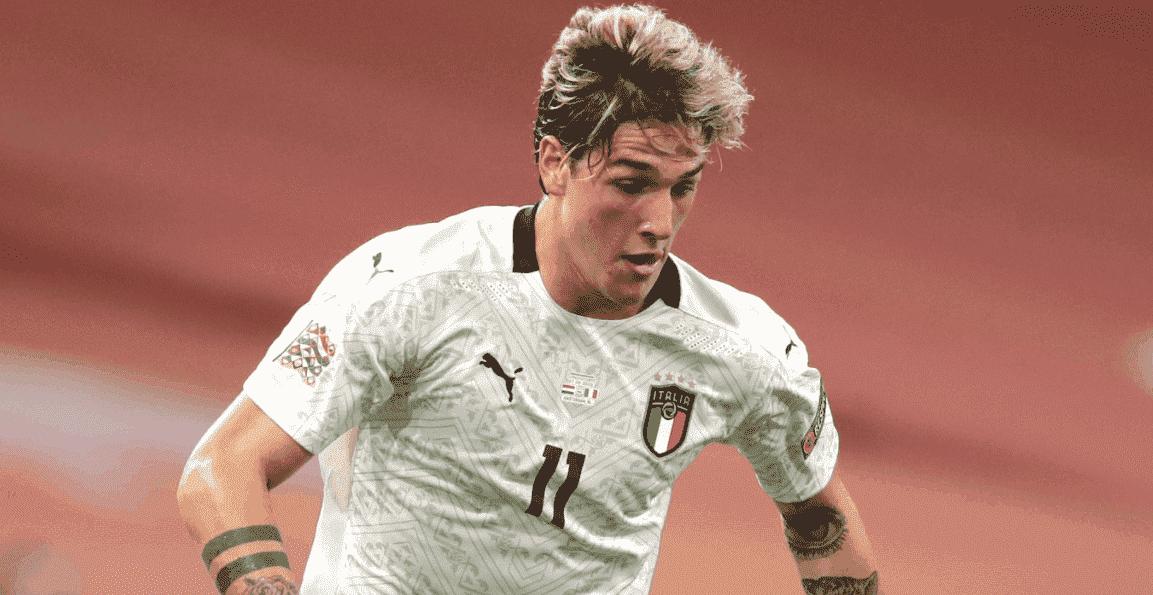 إصابة لاعب روما زانيولو في مباراة ايطاليا وهولندا ببطولة دوري الأمم الأوروبية 2021/2020 - صور AFP