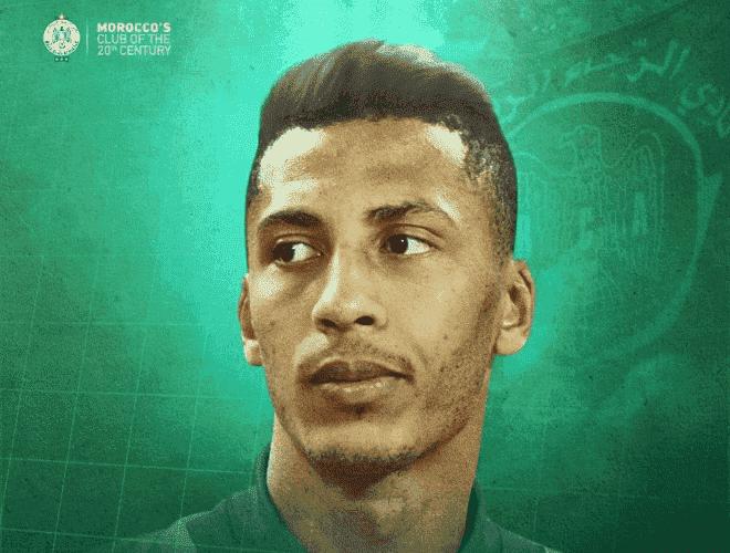 مروان هدهودي لاعب الرجاء