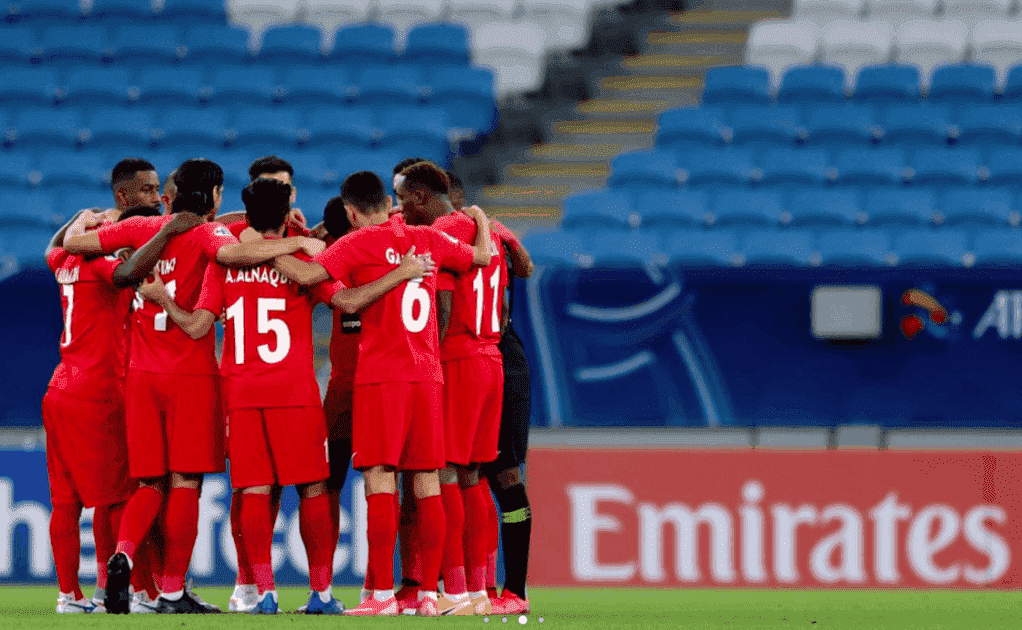 صور مباراة شباب الأهلي دبي وشاهر في دوري ابطال اسيا