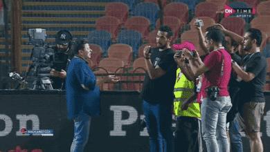 صورة لقطة اليوم | رضا عبد العال يطبق مفاهيم البريميرليج بإقامة مؤتمر صحفي قبل المباراة