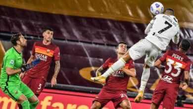 صورة بعشرة لاعبين..رونالدو يقود يوفنتوس لتعادل بطعم الفوز في روما